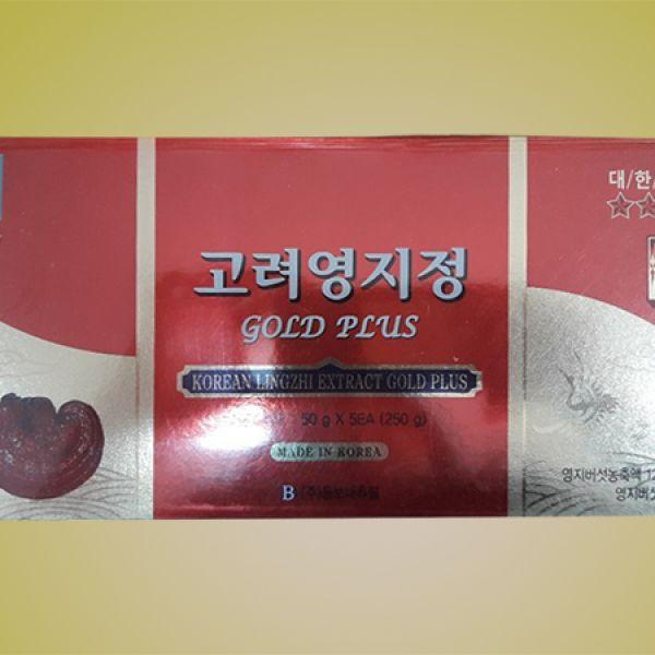 Korean Lingzhi Extract Gold Plus 4 jars
