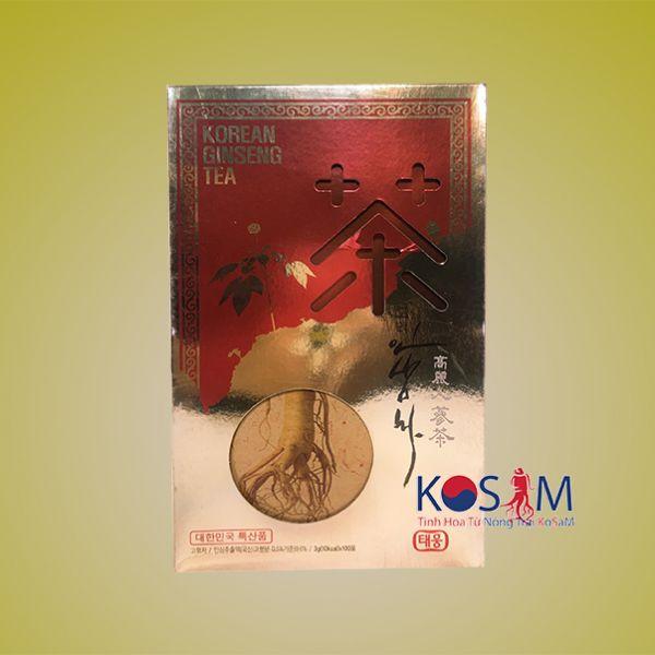 7 lợi ích tuyệt vời cho sức khỏe của Trà sâm Hàn Quốc