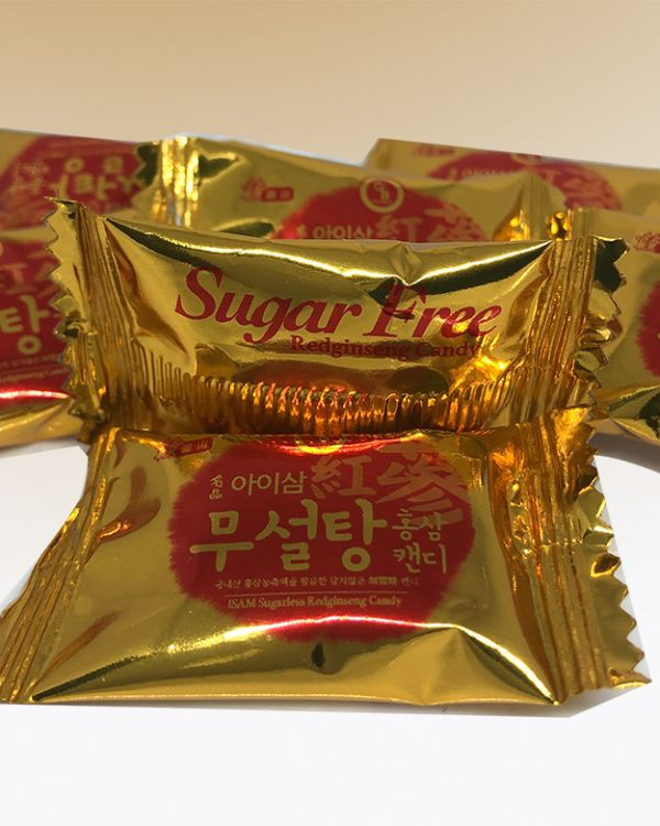 Kẹo hồng sâm không đường 500gr (0.3%)